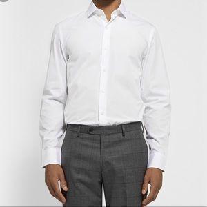 NWT J. Crew White Ludlow Dress Shirt, L